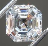 SOLD... 1.04ct F SI1 Asscher Cut Lab Grown Diamond R9453