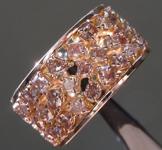 5.71ctw Brownish Pink Diamond Ring R9239
