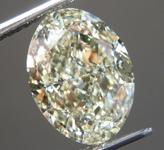 SOLD... 4.20ct U-V VS1 Oval Shape Diamond R9449