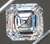 1.55ct D VS1 Asscher Cut Lab Grown Diamond R9451
