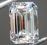 1.52ct I VS1 Emerald Cut Lab Grown Diamond R9452