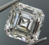 SOLD... 2.67ct J VS1 Asscher Cut Lab Grown Diamond R9465