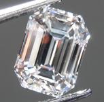 1.06ctw F VVS2 Emerald Cut Lab Grown Diamond R9474