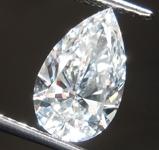 SOLD.....1.15ct F VS1 Pear Shape Lab Grown Diamond R9475