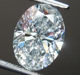 1.19ct D VVS2 Oval Shape Lab Grown Diamond R9478