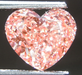 1.72ct Orangy Pink SI1 Heart Shape Lab Grown Diamond R9480