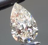1.01ct K VS1 Pear Shape Lab Grown Diamond R9492