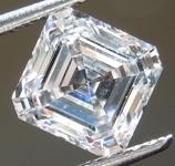 1.32ct E SI1 Asscher Cut Lab Grown Diamond R9502