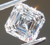 SOLD......0.84 E SI1 Asscher Cut Lab Grown Diamond R9503