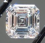 0.95ct E SI1 Asscher Cut Lab Grown Diamond R9554