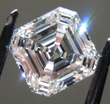 1.51ct E VS1 Asscher Cut Lab Grown Diamond R9547
