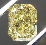 2.02ct Intense Yellow VS1 Cushion Cut Diamond R9577