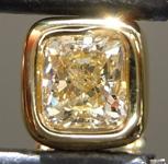 0.43ct Yellow VS Radiant Cut Diamond Necklace R9177