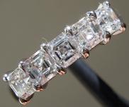 1.42ctw F VS Asscher Cut Lab Grown Diamond Ring R9446