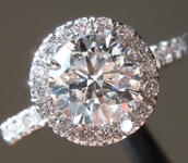 SOLD.....1.21ct E SI2 Round Brilliant Lab Grown Diamond Ring R9622