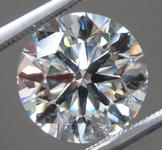 3.34ct L SI1 Round Brilliant Lab Grown Diamond R9666