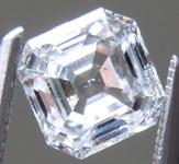 1.10ct D SI1 Asscher Cut Lab Grown Diamond R9676