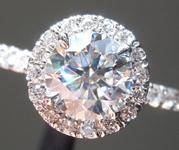1.04ct E VS1 Round Brilliant Lab Grown Diamond Ring R9668