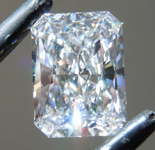 3.00ct F VS1 Radiant Cut Lab Grown Diamond R9726