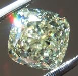1.50ct Y-Z VVS2 Cushion Cut Diamond R9714