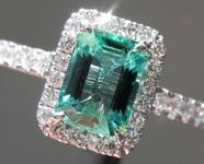 SOLD.....1.18ct Emerald Cut Emerald Ring R9692
