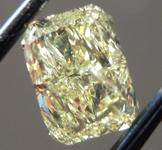 1.00ct Yellow I1 Radiant Cut Diamond R9733