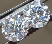 SOLD...2.32ctw E SI1 Round Brilliant Lab Grown Diamond Earrings R9570