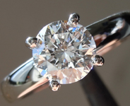 1.03ct E SI1 Round Brilliant Lab Grown Diamond Ring R9674