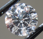 1.02ct G (Blue) SI2 Round Brilliant Lab Grown Diamond R9741