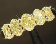 SOLD...1.35ctw Intense Yellow VS Oval Shape Diamond Ring R9657