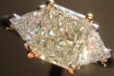 SOLD....Diamond Special: 1.25ct SI1 Radiant Cut U-V Light Yellow Diamond R1840