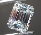 SOLD.....2.54ct H SI1 Emerald Cut Lab Grown Diamond R9466