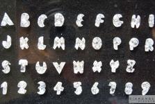 Loose G-H VS-SI Alphabet Letter Shape Diamond