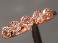 0.46ctw Natural Pink Diamond Ring R1220