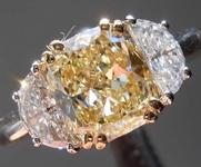 SOLD... 1.59ct Y-Z VVS2 Cushion Cut Diamond Ring R1335