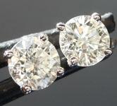 0.82ct I SI2 Round Diamond Earrings R2565