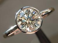 0.90ct K VS2 Round Brilliant Diamond Ring R4308