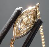 SOLD....Diamond Necklace: .55ct M VS2 Marquise Diamond Necklace R4413