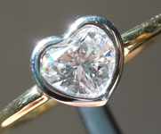 SOLD......Colorless Diamond Ring: .55ct D Internally Flawless Heart Shape Diamond Ring GIA R5814