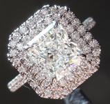 2.02ct H Internally Flawless Radiant Cut Diamond Ring R5787
