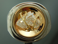 SOLD....Diamond Ring: 1.41ct H I1 Horse Head Diamond Ring R5893