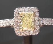 .50ct Y-Z VVS2 Radiant Cut Diamond Ring R6590