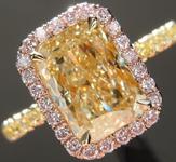 SOLD....2.14ct Y-Z VS2 Radiant Cut Diamond Ring GIA R6773