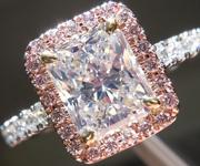 SOLD....1.38ct M SI1 Radiant Cut Diamond Ring R7083