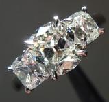 1.05ct K SI1 Cushion Cut Diamond Ring R7305