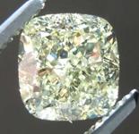 SOLD.....1.84ct Light Yellow VS2 Cushion Cut Diamond GIA R7365
