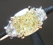SOLD....1.21ct W-X VVS2 Cushion Cut Diamond Ring R7605