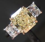 SOLD....2.02ct W-X VS1 Radiant Cut Diamond Ring R7907