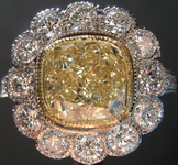 SOLD.....2.31ct W-X VS1 Cushion Cut Diamond Ring R7999