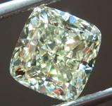 SOLD.....3.50ct W-X VS2 Cushion Cut Diamond R8174